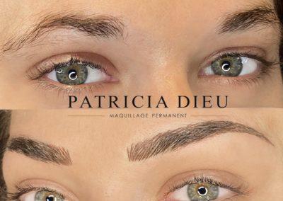 Maquillage permanent Sourcil à Caen - Patricia Dieu (2)