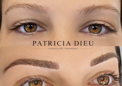 Maquillage permanent Sourcil à Caen - Patricia Dieu