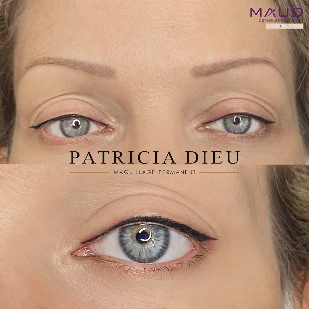 Maquillage permanent Yeux à Caen - Patricia Dieu