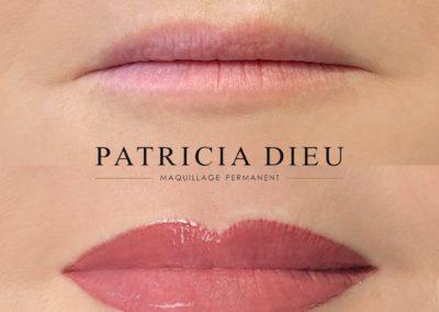 Maquillage permanent lèvre à Caen - Patricia Dieu